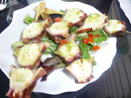 M'ocean: Octopus Kebabs