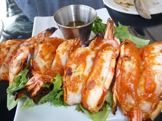 M'ocean: Spanish BBQ Shrimp