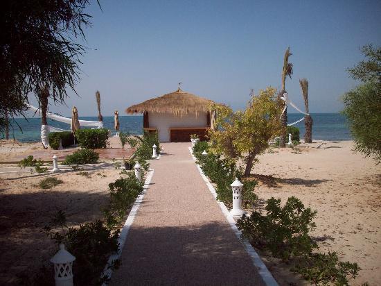 El Mouradi Djerba Menzel: bar de la plage
