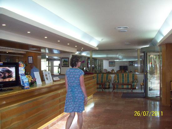 Hotel Seramar Comodoro Playa: reception