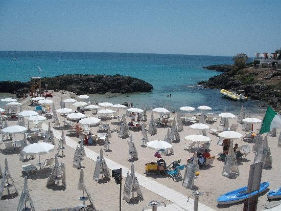 Gabbiano Hotel: la spiaggia