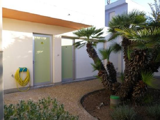 Hotel Amerique: MOTEL coté Jardin