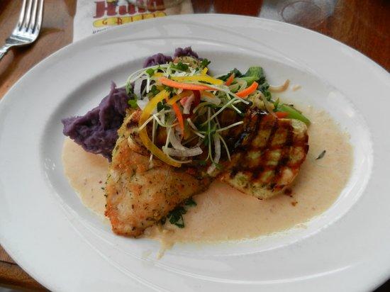 Hula Grill Waikiki : local fish special