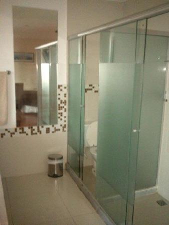 The Villa: salle de bain chambre Corcovado