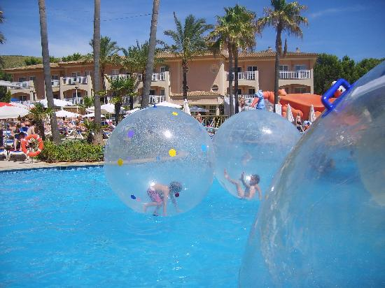 Playa Mar & Spa Aparthotel: Hamster balls at playa Mar