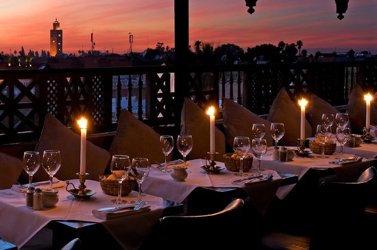 Le Tanjia : The best sunset dining in Marrakech