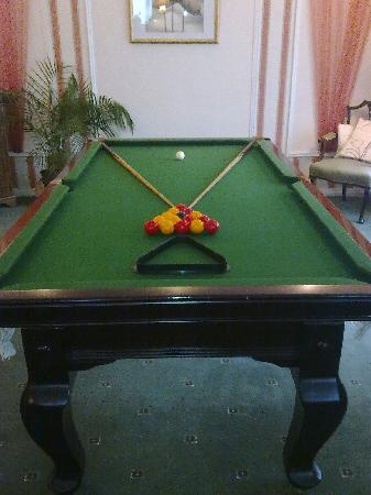 Fairway Country Hotel: Pool Table