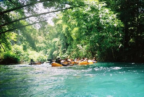River Tubing on the White River Ocho Rios,Jamaica