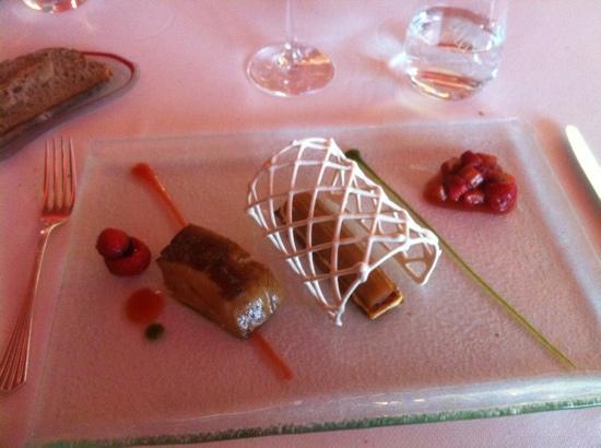 Auberge Du Vieux Puits : foie gras poêlé