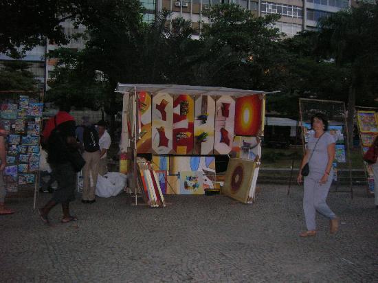 Feira Hippie de Ipanema : pinturas...