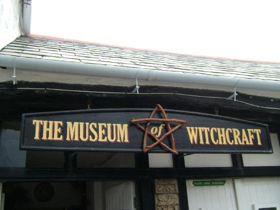 The Museum of Witchcraft: Above the Museum