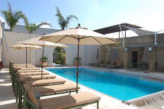 Shanti San Miguel: Solar heated saltwater pool