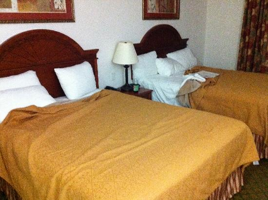 Budget Host Inn & Suites Cameron: Double beds