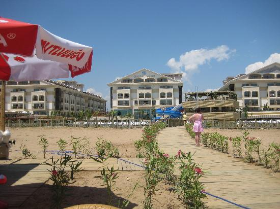 Alva Donna Exclusive Hotel & Spa: View from the hotel beach.