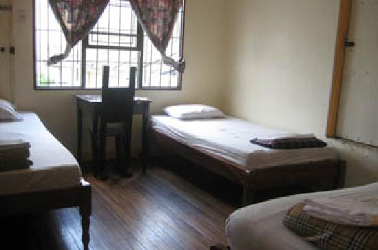 Casa Ridgway Hostel: Private room with single beds.