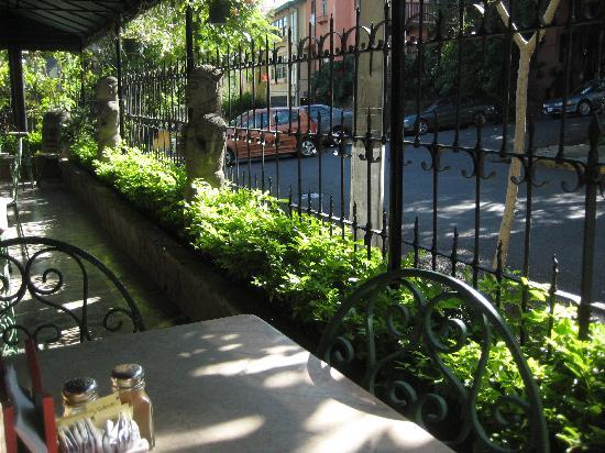 هوتل دون كارلوس: Balcony of the restaurant