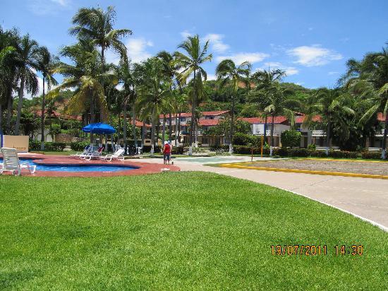 Foto de qualton club ixtapa ixtapa zihuatanejo jardin for Villas de jardin seychelles tripadvisor