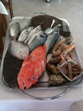 Restaurant Pic Nic Gourmet : il carrello del pesce fresco