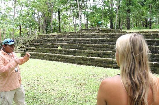 Belcampo Lodge: Mayan Ruins with tour guide Vince
