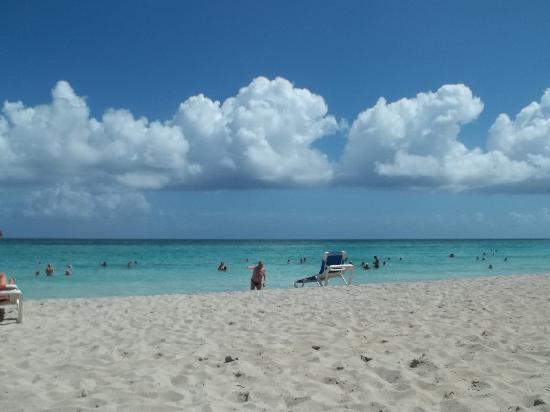 Brisas del Caribe Hotel: la plage en face de l`hotel