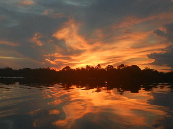 Tariri Amazon Lodge: Wonderful sunset