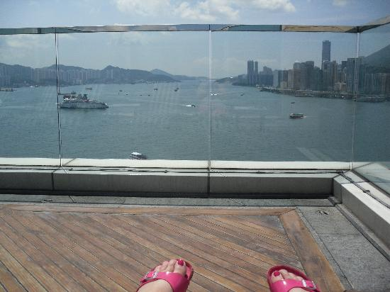 Harbour Grand Kowloon: view from sun terrace