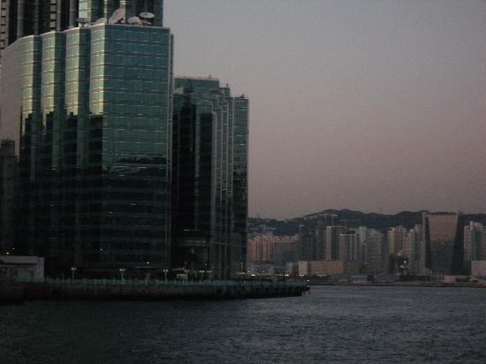 Harbour Grand Kowloon: hotel from harbour
