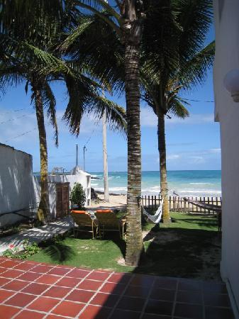 Casita de la Playa: Frente a la playa/beach front hotel