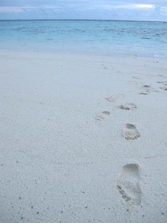Dhevanafushi Maldives Luxury Resort Managed by AccorHotels: Foot steps