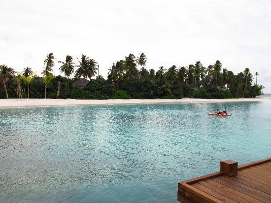 Dhevanafushi Maldives Luxury Resort Managed by AccorHotels: Island from the Spa