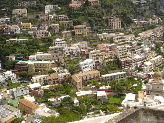 Enjoying Italy Private Tours: Cliffside dwellings of Positano