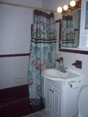 Periwinkle Cottages of Sanibel: The Bathroom