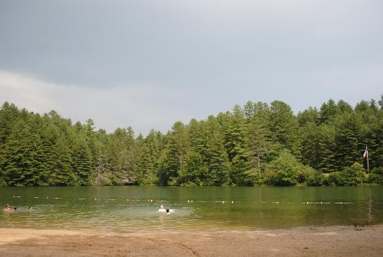 Cascade Lake Recreation Area: swimming lake