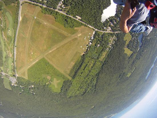 Skydive Cape Cod: Closer still