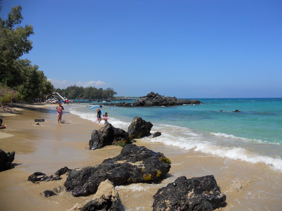 Kohala Coast, Hawái: Waialea Beach (69 Beach)