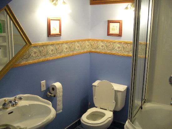 Hayden's Wexford House : One of the VERY CLEAN shared bathrooms.  The other one was larger still.
