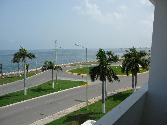 Gamma Campeche Malecon: view from balcony Best Western Del Mar