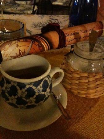Ristorante La Casa dei Capitani : ottimo caffè
