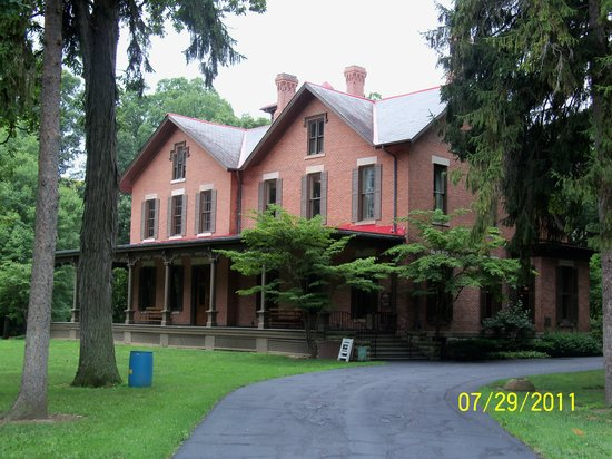 Rutherford B. Hayes Presidential Library & Museums: Tour the home