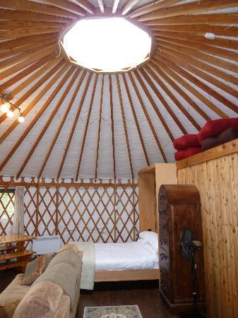 Soule Creek Lodge: Tatoosh Yurt