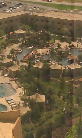 Choctaw Casino Resort : The Wonderful oasis pool