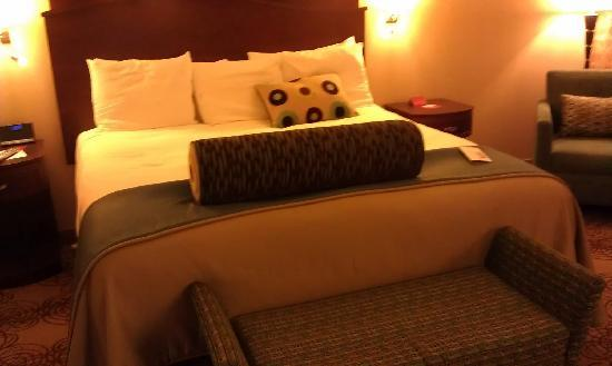 Choctaw Casino Resort : My bed in my room