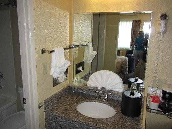 The Dalles Inn: Sink Area
