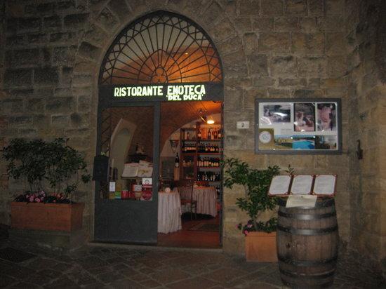 Ristorante Enoteca Del Duca: ingresso