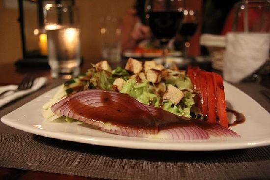 Hotel Villa Romana: dinner!  deliciouso