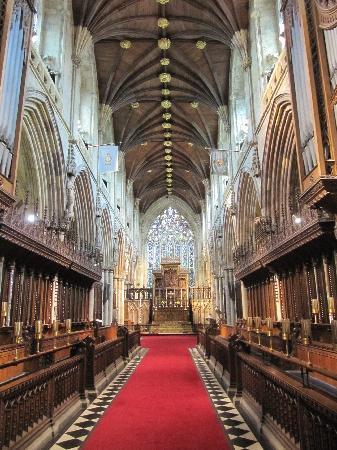 Selby Abbey: Innenraum