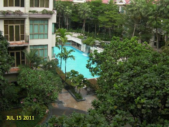 Treetops Executive Residences Singapore: Pool from third floor balcony