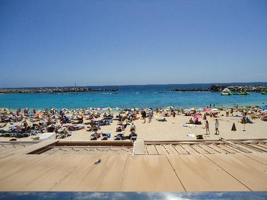 ClubHotel Riu Vistamar: la plage en navette de l'hôtel 7 minutes