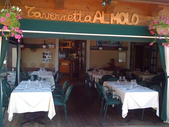 Tavernetta al Molo: the patio
