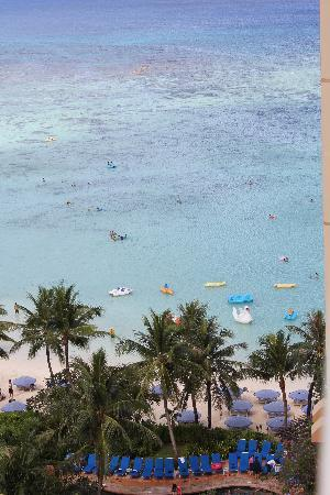 Outrigger Guam Resort: 部屋の窓から